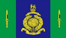 ROYAL MARINES SIGNAL SQUADRON - 5 X 3 FLAG
